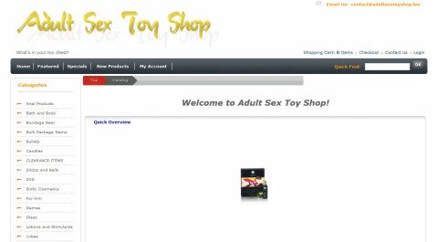 Adult Sex Toy Shop
