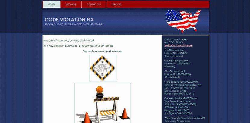 Code Violation Fix