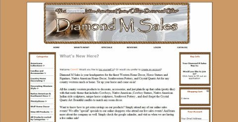 Diamond M Sales