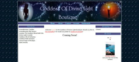 Goddess Of Divine Light Boutique