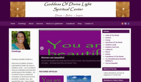 Goddess Of Divine Light Spiritual Center