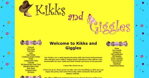 Kikks & Giggles Parties