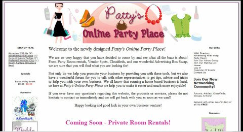 Patty's Online Party Place