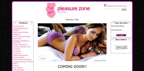 Pleasure Zone Online