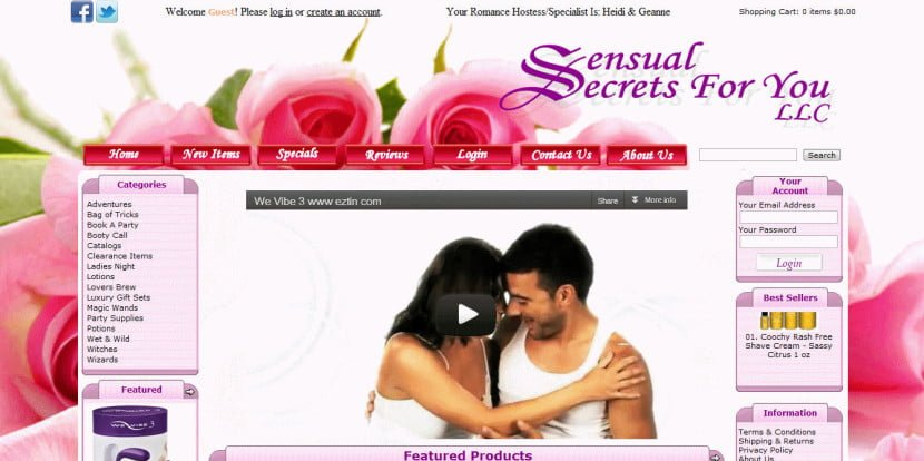 Sensual Secrets For You