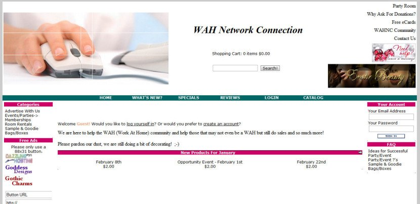 WAH Network Connection
