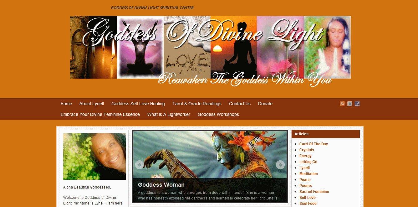 Goddess Of Divine Light Spiritual Center