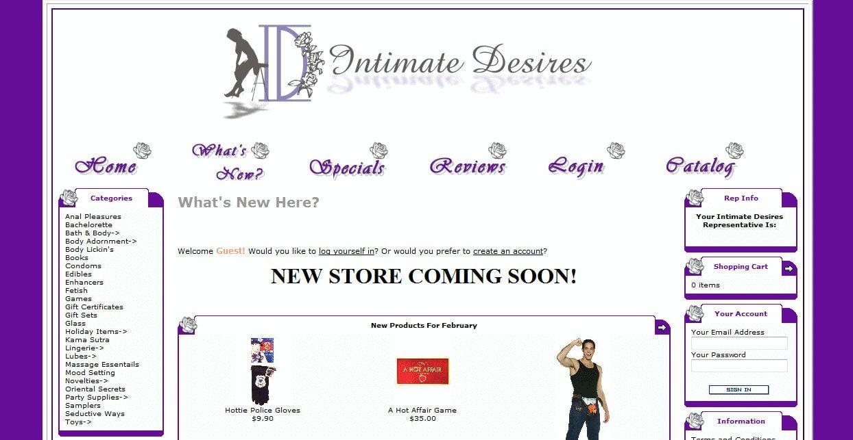 Intimate Desires Show