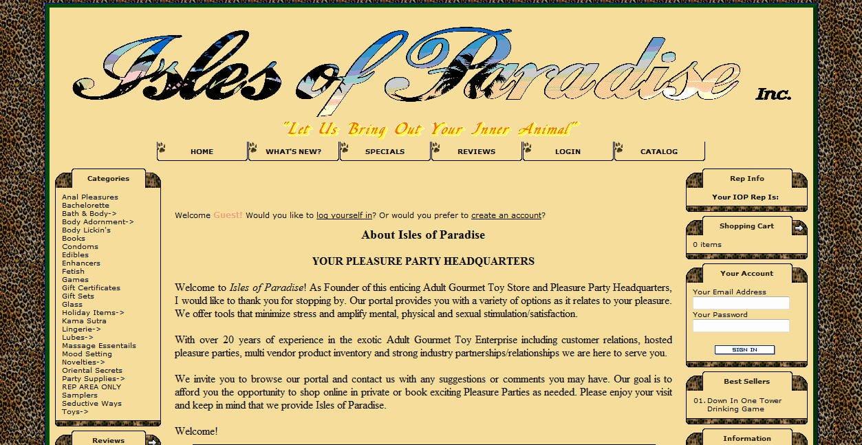 Isles Of Paradise