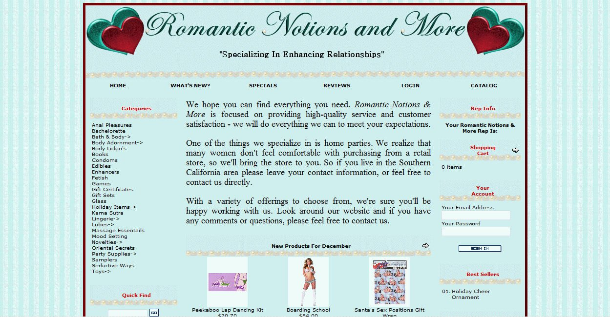 Romantic Notions & More
