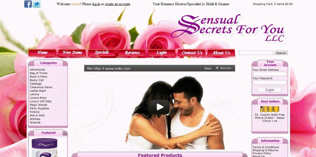 Sensual Secrets For You