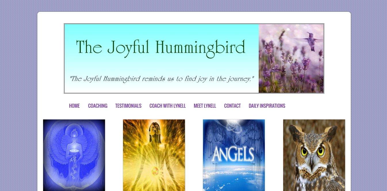 The Joyful Hummingbird